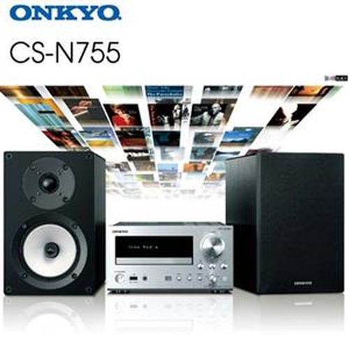 onkyo 网路/cd/收音机迷你组合 cs-n755