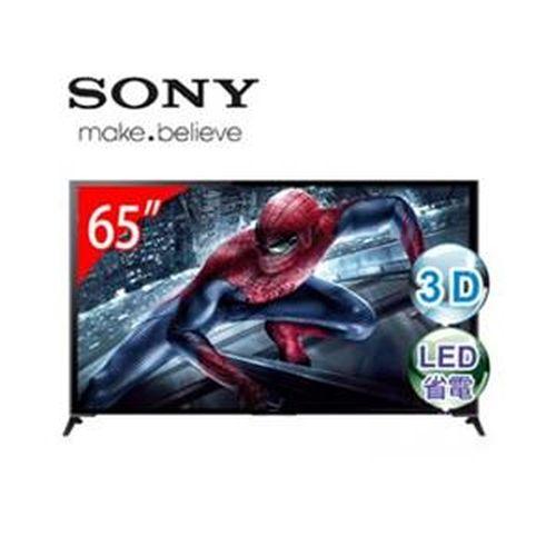 SONY索尼 65型3D 4K智慧型連網電視 KD-65X9500B
