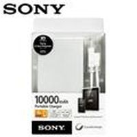 SONY 10000mAh 行動電源 CP-F10M 銀
