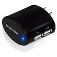 DigiFusion 伽利略 雙USB 隨身旅充器 黑