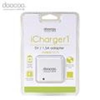 doocoo icharger1 1.5A USB 充電器 白