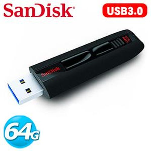 SanDisk新帝 CZ80 Extreme 64GB USB 3.0 隨身碟
