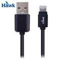 HAWK 逸盛 Lightning 對 USB 充電傳輸線 黑