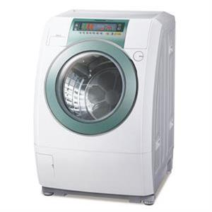 [陈列品]panasonic 国际 nav158tw 斜取式变频滚筒洗衣机