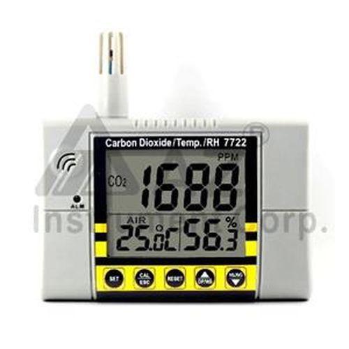AZ 7722 壁掛式二氧化碳偵測計