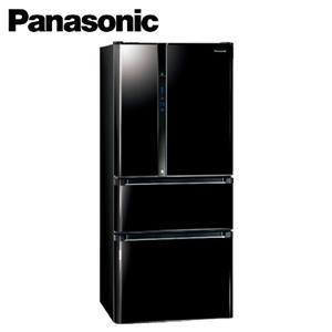 Panasonic國際牌 ECO NAVI 610公升四門電冰箱 NRD618HV(B)光釉黑