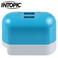 INTOPIC 廣鼎 CU-001-BL 2A雙USB充電器