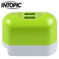 INTOPIC 廣鼎 CU-001-GN 2A雙USB充電器