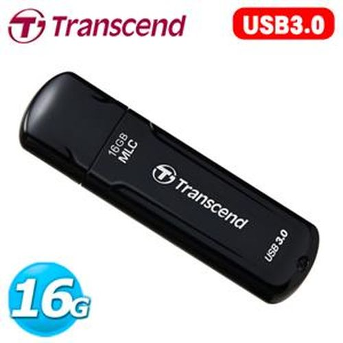 Transcend 創見 JetFlash 750 USB3.0 16G  MLC高速碟 ( 黑 )