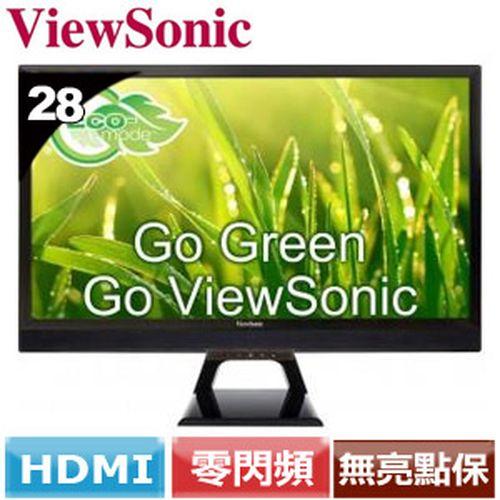ViewSonic  28型廣視角液晶螢幕 VX2858SML