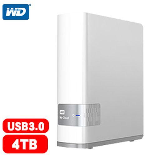 WD My Cloud 3.5吋 4TB USB3.0雲端儲存系統