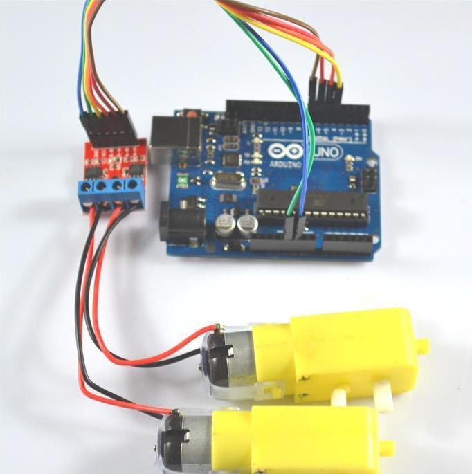 l9110s直流电机驱动模组