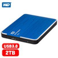 WD My Passport Ultra 2.5吋 2TB 行動硬碟 藍