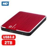 WD My Passport Ultra 2.5吋 2TB 行動硬碟 紅