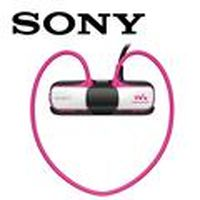 SONY新力 NWZ-W273S/P 無線防水隨身聽 4GB  晶漾粉