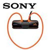 SONY新力 NWZ-W273S/D 無線防水隨身聽 4GB  游樂橘