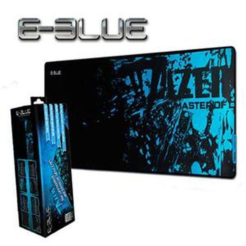 E-BLUE 宜博 極光狂蛇電競滑鼠墊(L) 藍色