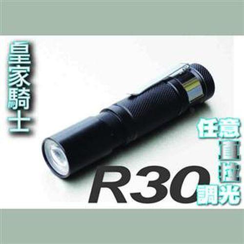 皇家騎士 伸縮變光迷你手電筒 AAx1 R30