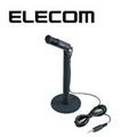 ELECOM 民台 MC01 直立式麥克風 (黑)