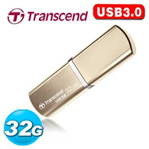 Transcend 創見 JetFlash 820 32G USB3.0 金屬外殼 極速精品碟 ( 香檳金 )