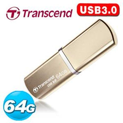 Transcend 創見 JetFlash 820 64G USB3.0 金屬外殼 極速精品碟 ( 香檳金 )