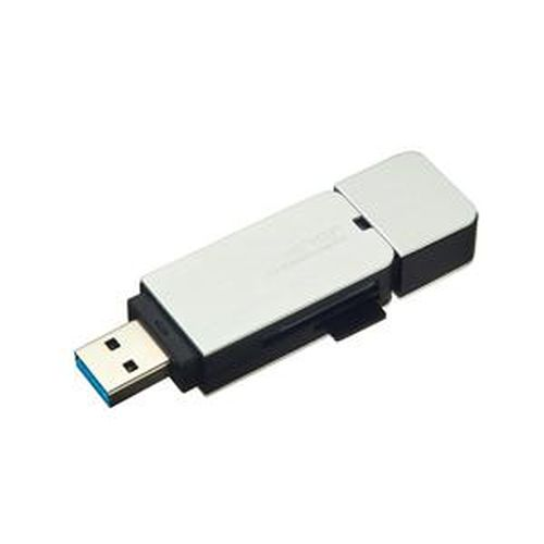 CD3210 USB 3.0 讀卡機-銀