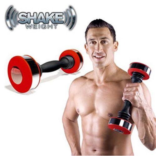 《Shake Weight》男性專用搖擺鈴【旋風紅】
