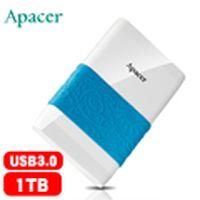 Apacer宇瞻 AC232 1TB 海漾碟 2.5吋行動硬碟 白