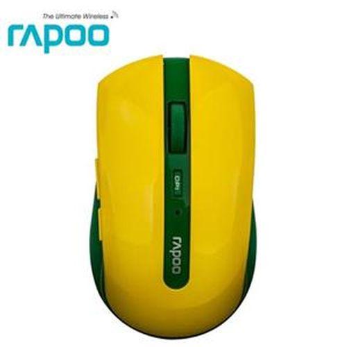 Rapoo 雷柏7200P~世足 版~巴西 5G無線光學滑鼠