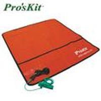 Pro'sKit 寶工 8PK-AS07-1 防靜電工作布附插座接地線及腕帶
