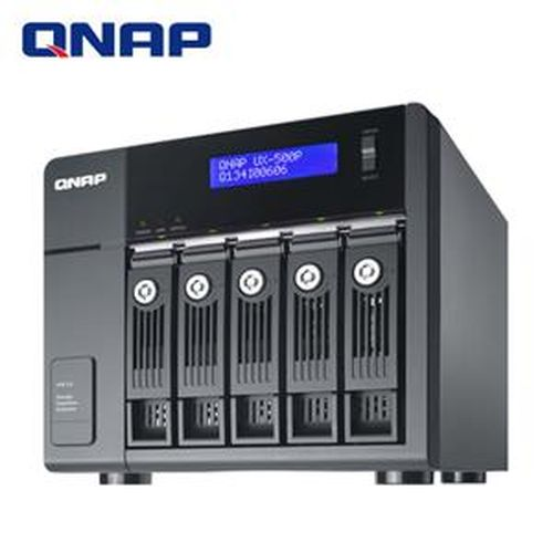 QNAP 威聯通 UX-500P  5Bay網路儲存伺服器