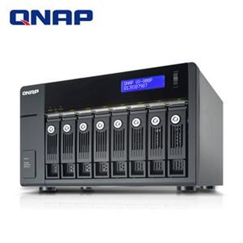 QNAP 威聯通 UX-800P  8Bay網路儲存伺服器