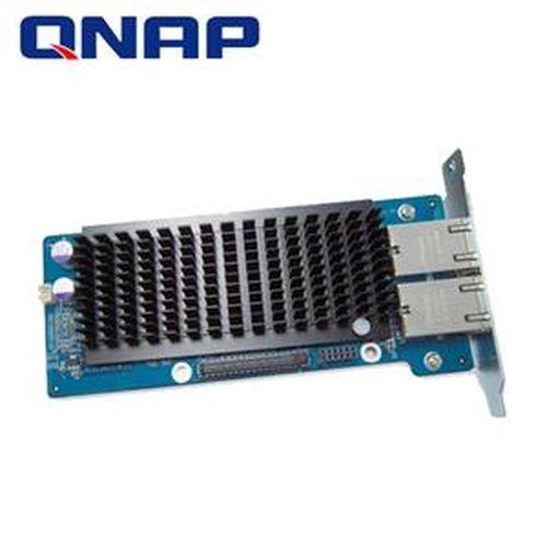 QNAP威聯通 LAN-10G2T-D 網路擴充卡