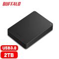 BUFFALO 巴比祿 2.5吋 2TB 防震加密行動硬碟 黑 HD-PNF