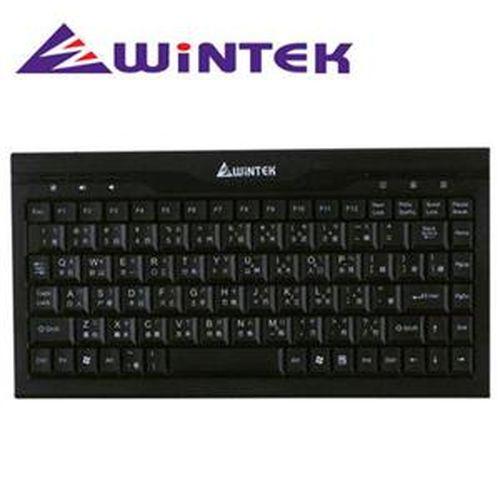 WINTEK文鎧 WK590U 鍵盤 黑色  迷你型鍵盤