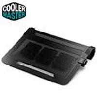 Cooler Master  U3 Plus 移動式風扇鋁製散熱墊 (黑)
