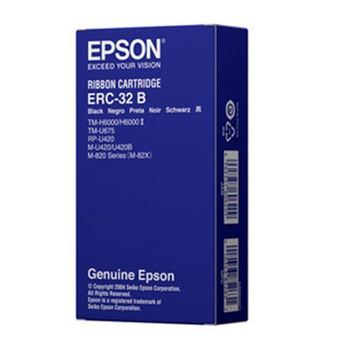 EPSON 收銀機色帶 ERC-32B (黑色)