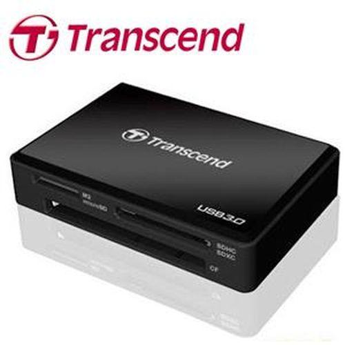 TRANSCEND創見 F8 多合一讀卡機 黑