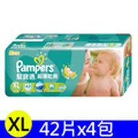 【箱購】幫寶適Pampers 超薄乾爽 XL (168片)