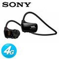 SONY新力 W273S 防水數位隨身聽MP3 4G 尊黑