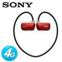 SONY新力 W273S 防水數位隨身聽MP3 4G 檳紅
