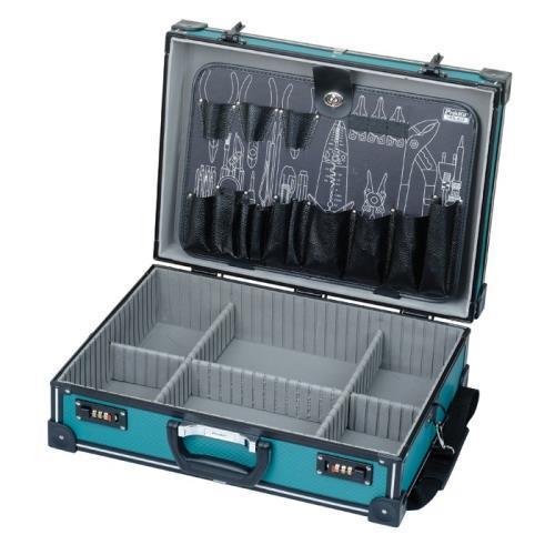 Pro'sKit 宝工 9PK-990 大绿铝条工具箱(附工具板)
