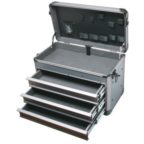Pro'sKit 宝工 TC-755 深灰重型铝质工具箱(三抽屉)