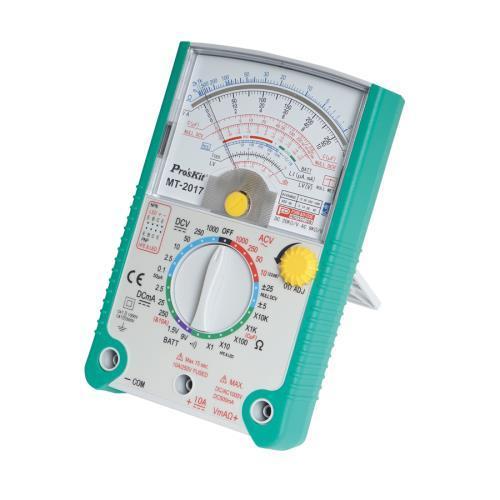 Pro'sKit 寶工 MT-2017 26檔指針型防誤測三用電錶