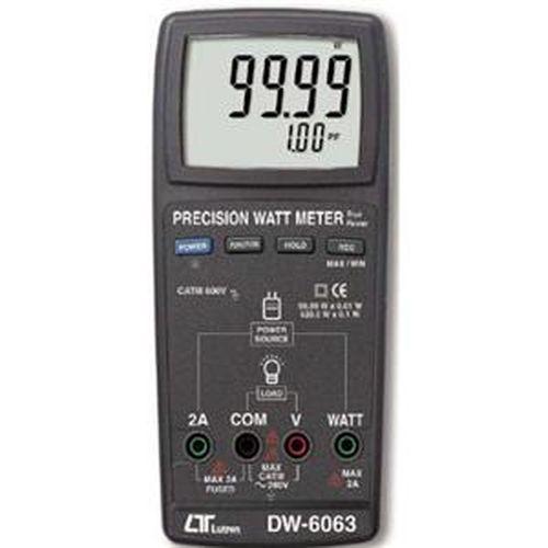 LUTRON 精密型瓦特錶 DW-6063