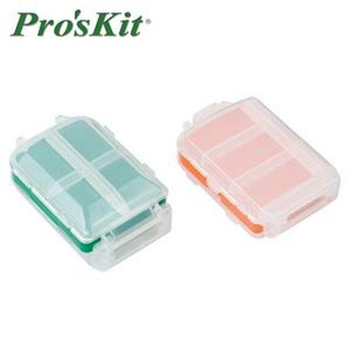 Pro'sKit 寶工 SB-1007K 多功能三開8格零件盒