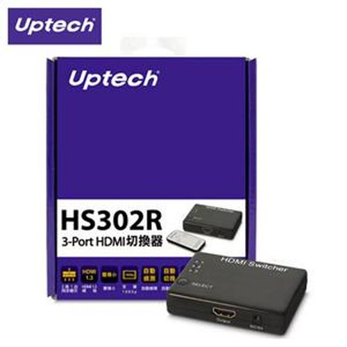 Uptech 登昌恆  HS302R 3-Port HDMI 切換器