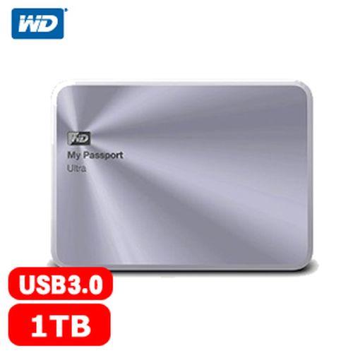 WD My Passport Ultra 2.5吋 1TB 金屬行動硬碟 銀
