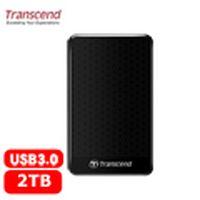 Transcend 創見 25A3 2TB 2.5吋 行動硬碟 黑