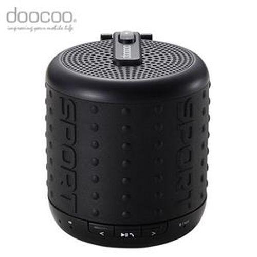 doocoo ibomb 藍牙無線喇叭 運動款 黑